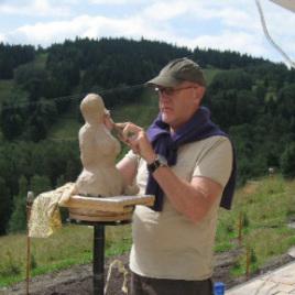 beeldhouwvakantie boetseren creatieve vakantie Frankrijk Artfriends