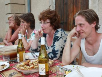 creatieve-vakantie-frankrijk-diner