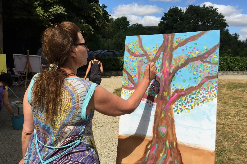 12 Creatieve vakantie Frankrijk boetseren schildervakantie zangvakantie yoga vakantie