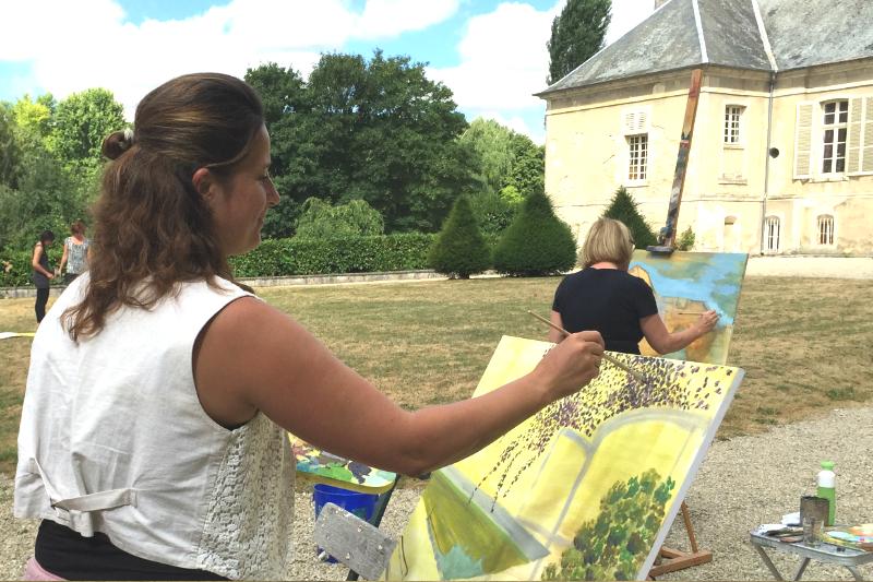 17 Creatieve vakantie Frankrijk boetseren schildervakantie zangvakantie yoga vakantie