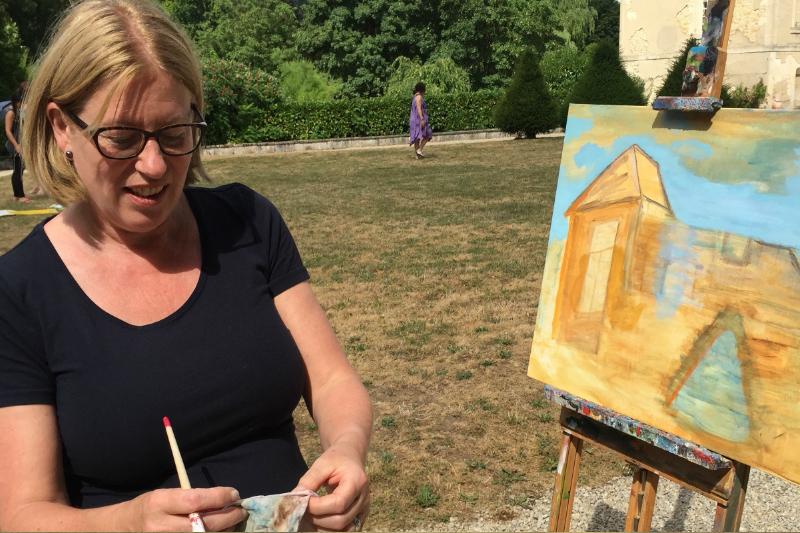 18 Creatieve vakantie Frankrijk boetseren schildervakantie zangvakantie yoga vakantie