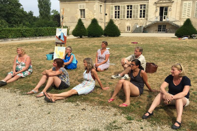 46 Creatieve vakantie Frankrijk boetseren schildervakantie zangvakantie yoga vakantie