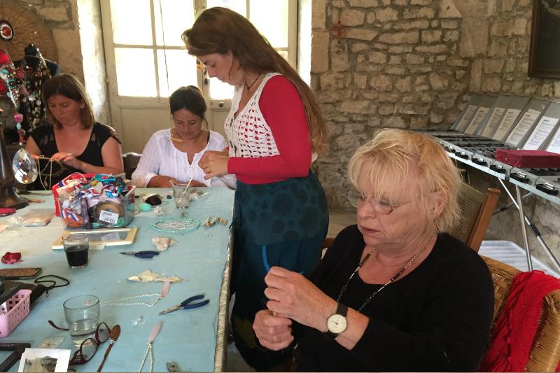 99 Creatieve vakantie Frankrijk boetseren schildervakantie zangvakantie yoga vakantie