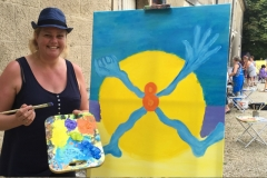 16 Creatieve vakantie Frankrijk boetseren schildervakantie zangvakantie yoga vakantie