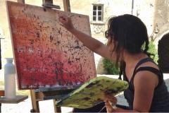 Yoga Creatieve vakantie Frankrijk boetseren schildervakantie zangvakantie yoga vakantie