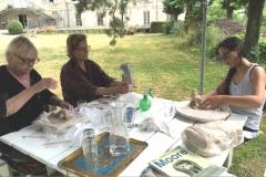 7 Creatieve vakantie Frankrijk boetseren schildervakantie zangvakantie yoga vakantie