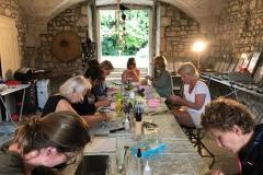 Yoga & Creatieve vakantie Frankrijk schildervakantie 2017