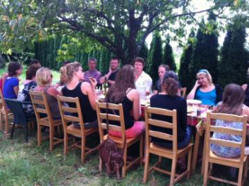 creatieve-vakantie-workshop-frankrijk-dineren-in-de-boomgaard-week-5-8-2012-13