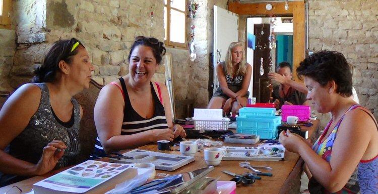 creatieve vakantie frankrijk beschermkristal makien