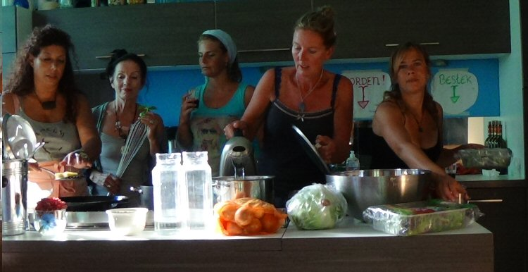 creatieve vakantie frankrijk in de keuken 2