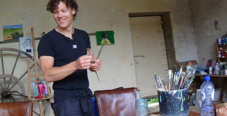 creatieve vakantie frankrijk kwasten schoonmaken