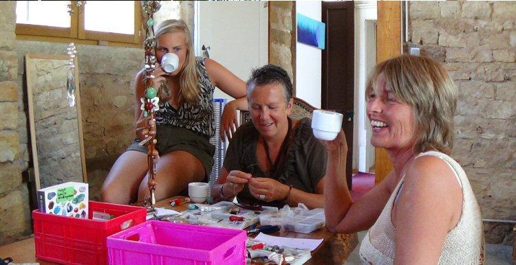 creatieve vakantie frankrijk levensketting maken