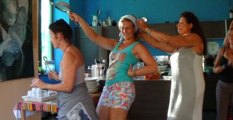creatieve vakantie frankrijk plezier in de keuken