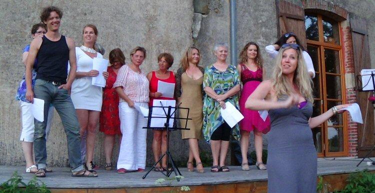 creatieve vakantie frankrijk zingen 2
