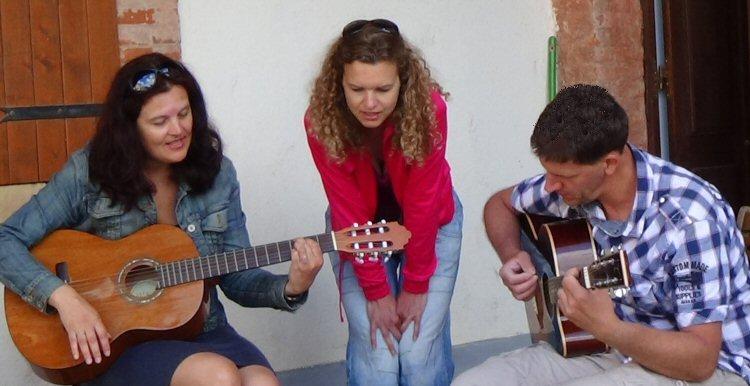 creatieve vakantie frankrijk zingen