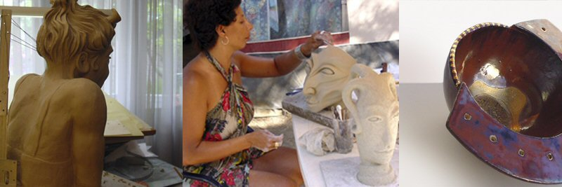 creatieve vakantie frankrijk boetseren beeldhouwen 1