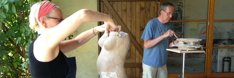 creatieve vakantie frankrijk boetseren beeldhouwen 17