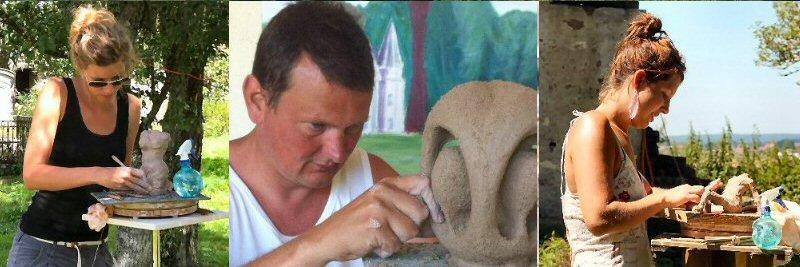 creatieve vakantie frankrijk boetseren beeldhouwen 5