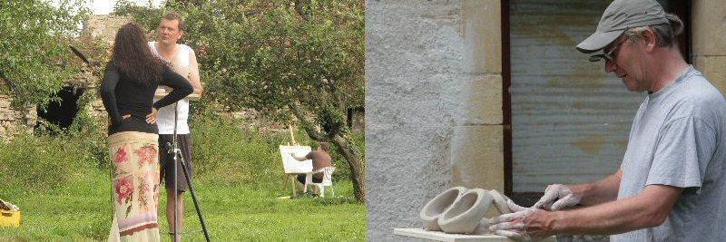 creatieve vakantie frankrijk boetseren beeldhouwen 7