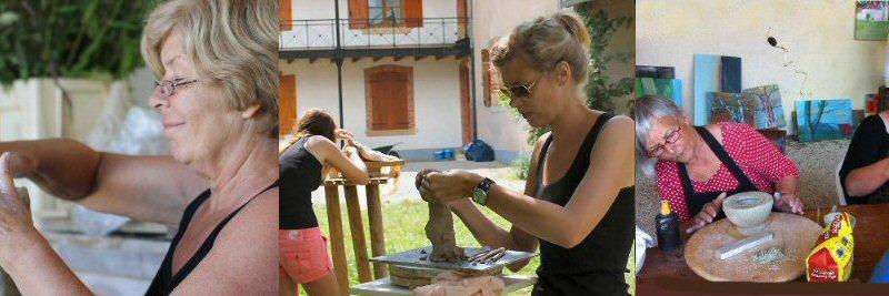 creatieve vakantie frankrijk boetseren beeldhouwen 8