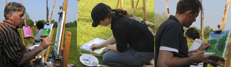creatieve vakantie frankrijk schildervakantie schilderen schilderles 12