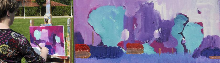 creatieve vakantie frankrijk schildervakantie schilderen schilderles 13