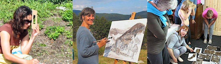 creatieve vakantie frankrijk schildervakantie schilderen schilderles 14