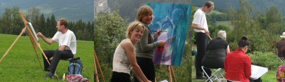 creatieve vakantie frankrijk schildervakantie schilderen schilderles 15