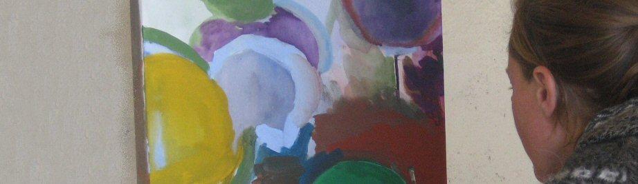creatieve vakantie frankrijk schildervakantie schilderen schilderles 20