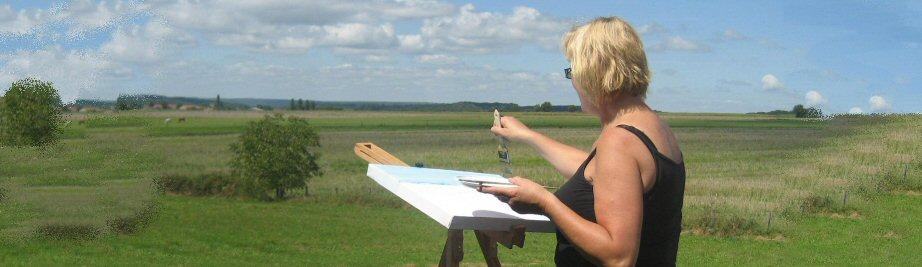 creatieve vakantie frankrijk schildervakantie schilderen schilderles 21