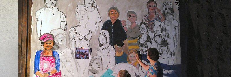 creatieve vakantie frankrijk schildervakantie schilderen schilderles 7