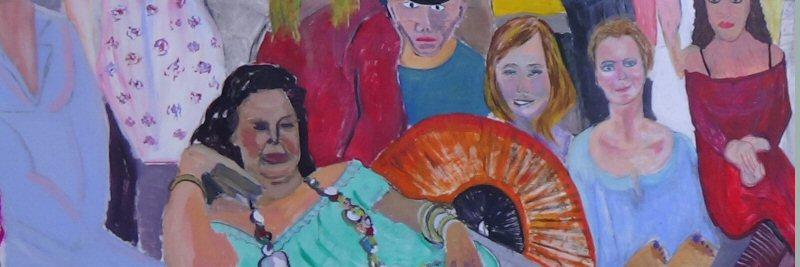 creatieve vakantie frankrijk schildervakantie schilderen schilderles 9