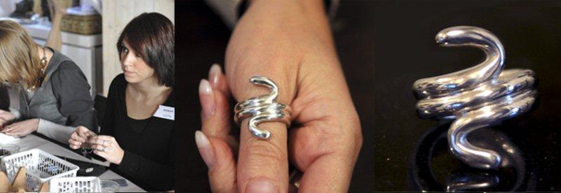 Art Clay Silver zilveren sieraden maken creatieve vakantie Frankrijk