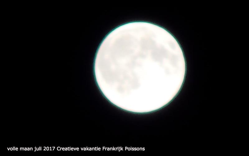 volle maan en creativiteit