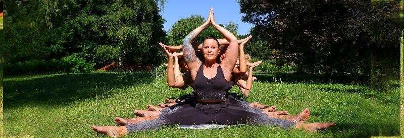 Yoga vakantie Yin Yang Yoga vakantie Lotus figuur