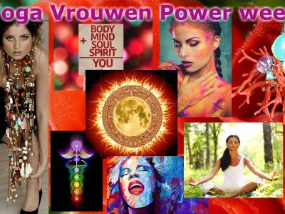 Yoga vakantie Yoga vrouwen power week