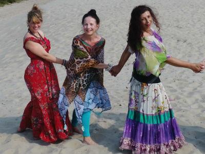 Yoga vakantie Yoga Vrouwen Power Mary, Lotus, Caren