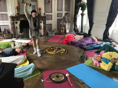 Yoga vakantie Yoga Vrouwen Power healing sound massage
