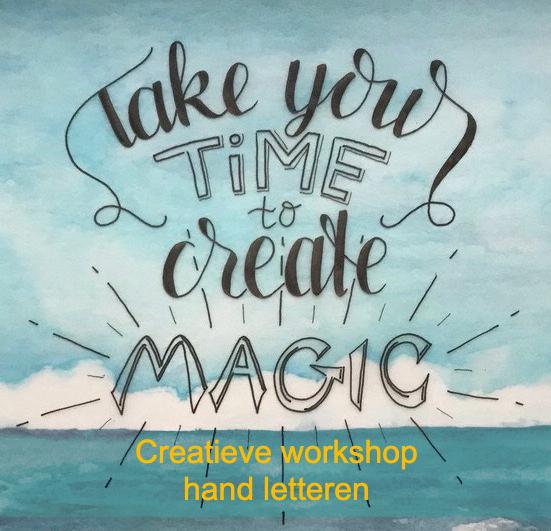 Creatieve workshop hand letteren creatieve ontsnapping veluwe