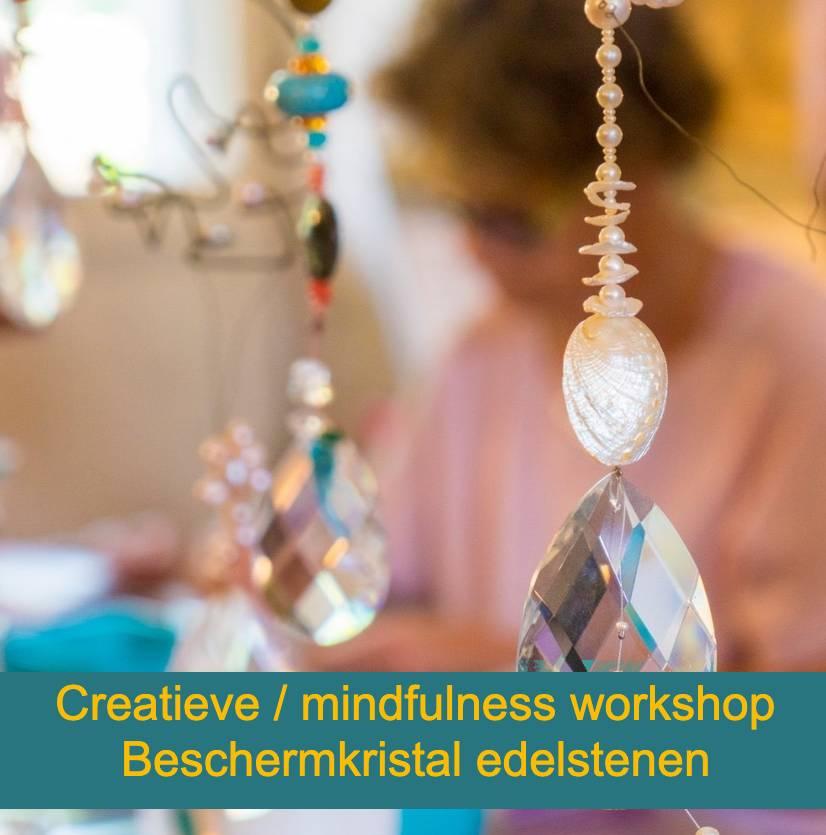 Creatieve workshop mindfulness workshop beschermkristal van edelstenen
