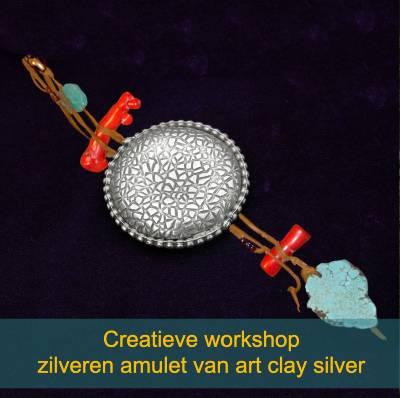 Creatieve workshop art clay silver zilveren sieraad maken