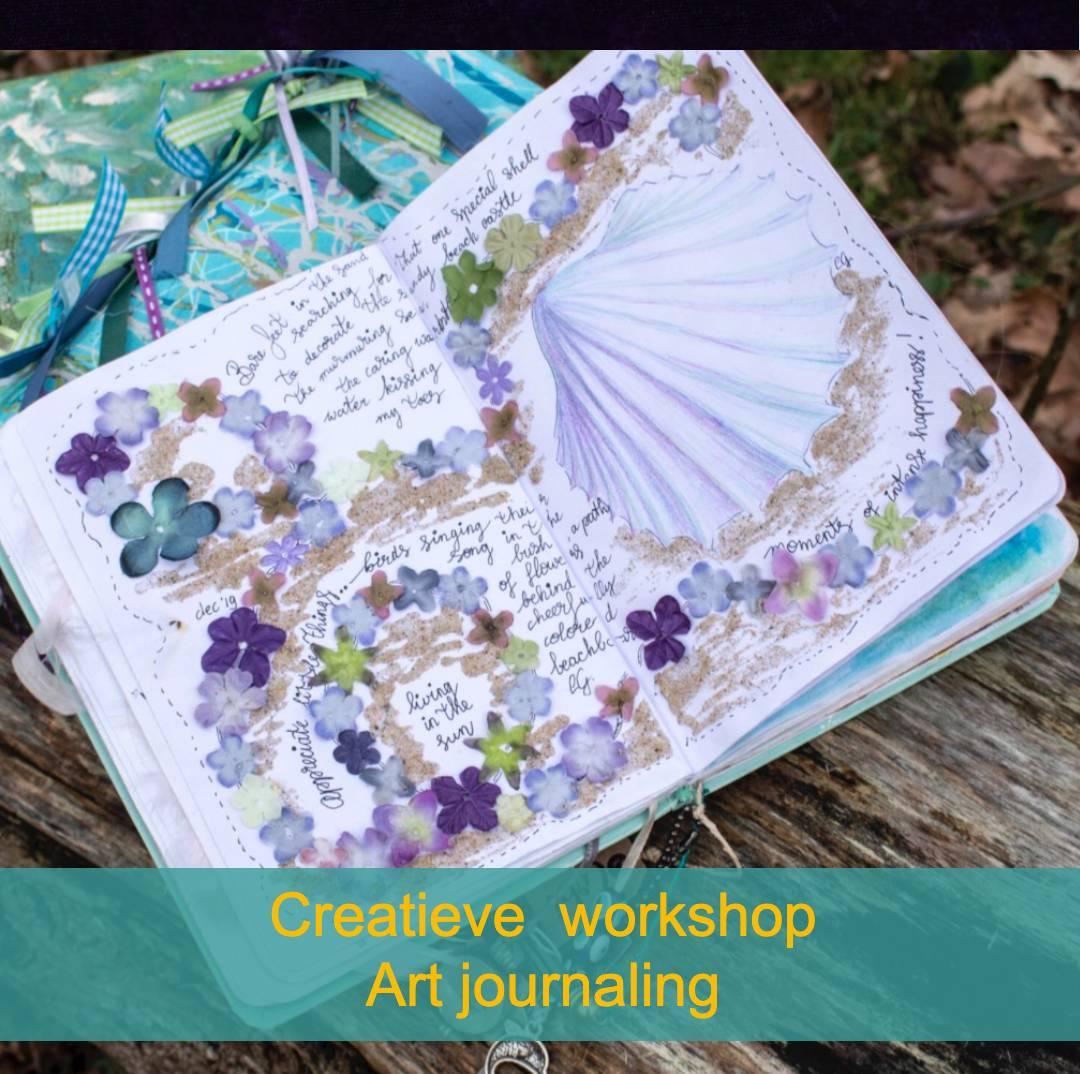 Creatieve workshop art journaling creatieve ontsnapping veluwe