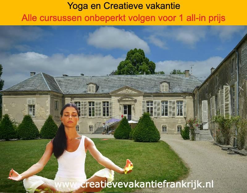 yoga vakantie yoga week en creatieve vakantie