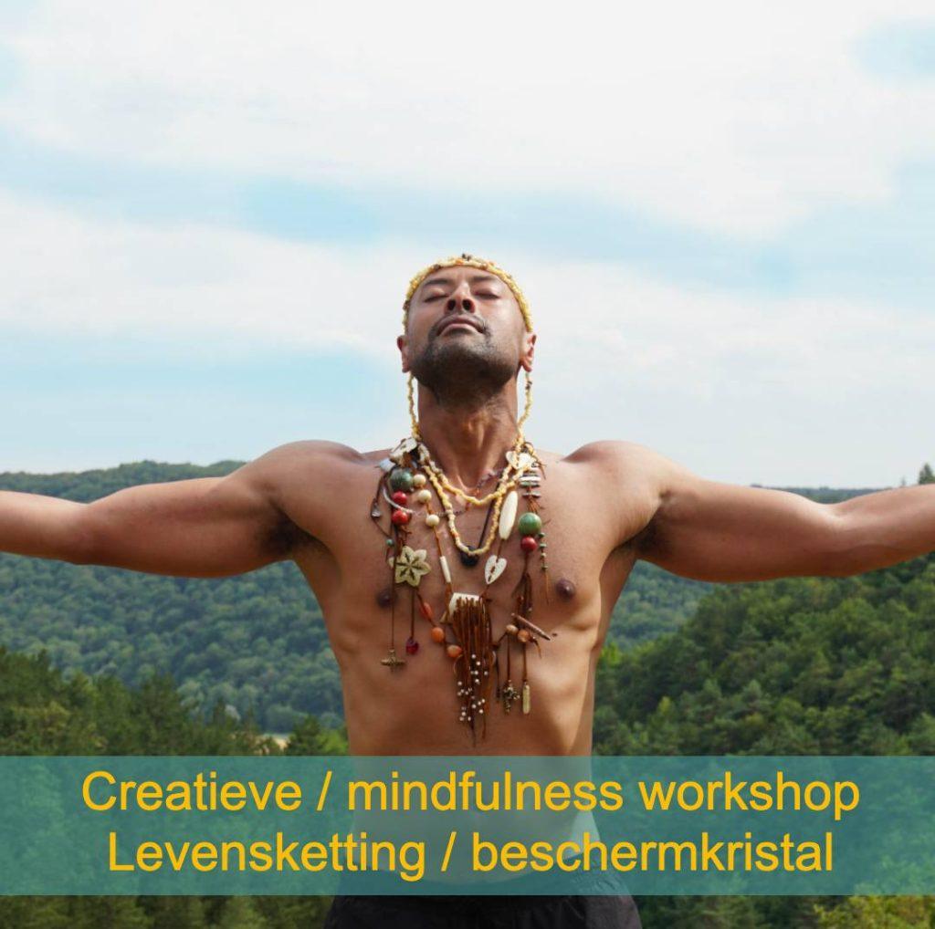 Levensketting creatieve meditatie ontspanningsweek