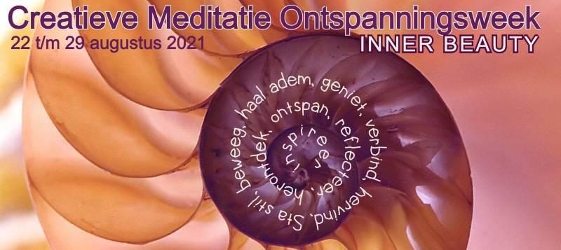 Creatieve meditatie ontspanningsweek