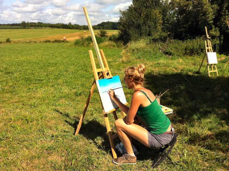 schilderweek creatieve meditatie ontspanningsweek