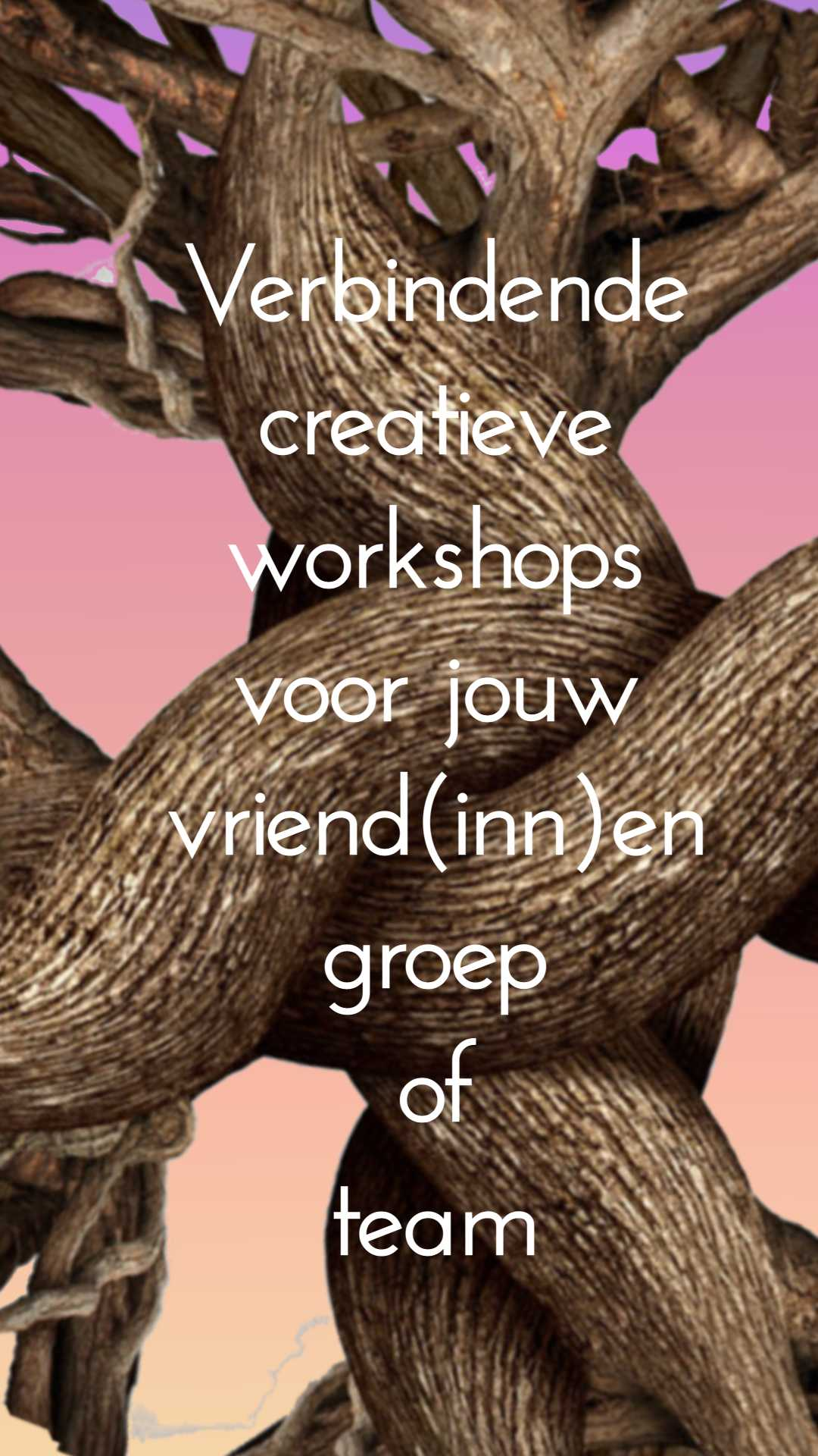 creatieve workshops voor groepen
